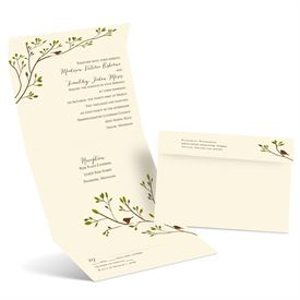 Bird Wedding Invitations: 