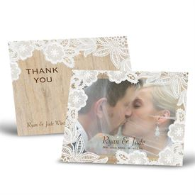 Vintage Country - Thank You Postcard