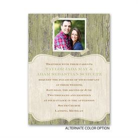 Worn Wood - Petite Invitation