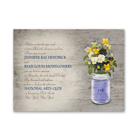 Pretty Pansies - Petite Invitation