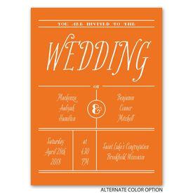 Simple Typography - Petite Invitation