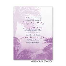 Tropical Haze - Petite Invitation