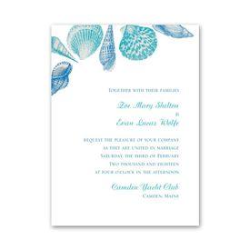 beach wedding invitations ann s bridal bargains