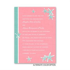 Starfish and Linen - Petite Invitation