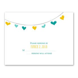 Lovely Garland - Response Card