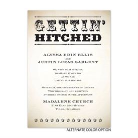 """Let""""s Get Hitched - Invitation"""