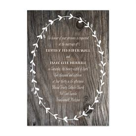 Fall Wedding Invitations: 