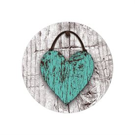 Wood Heart - Envelope Seal