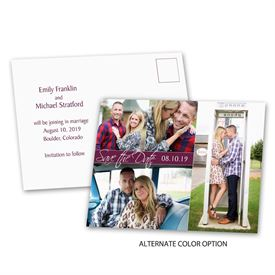 Modern Arrangement - Save the Date Postcard