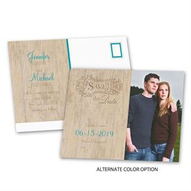 Rustic - Choose Your Design - Save the Date Postcard