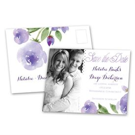 Within Reach - Lavender - Save the Date Postcard