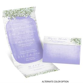 "Baby""s Breath - Seal and Send Invitation"