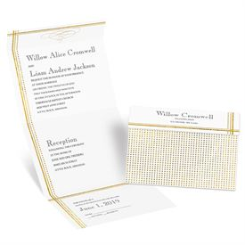 Gold Borders - Choose Your Design - Seal and Send Invitation