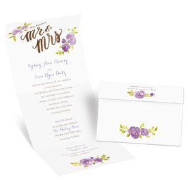 Future Mr. & Mrs. - Seal and Send Invitation