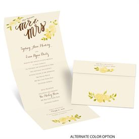 Future Mr. & Mrs. - Ecru - Seal and Send Invitation