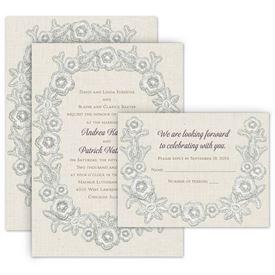 Shabby Chic Wedding Invitations Anns Bridal Bargains