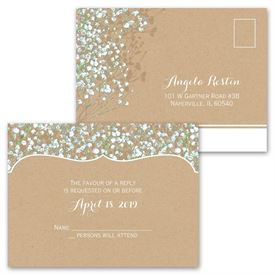 "Baby""s Breath - All in One Invitation"