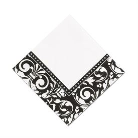 Damask Frame Dinner Napkin