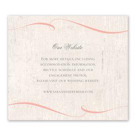 Love Endures - Information Card