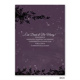 String of Lights - Invitation with Free Response Postcard