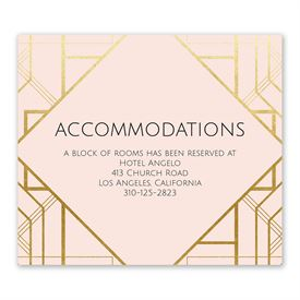 Art Deco Shine - Information Card