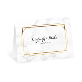Modern Marble - Thank You Card