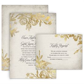 wedding invites free respond cards rustic glam invitation with free response postcard