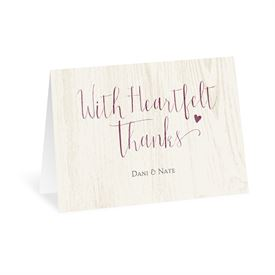 My Whole Heart - Thank You Card