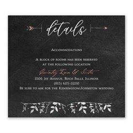 Wedding reception invitations reception cards anns bridal bargains wedding reception cards the adventure begins information card filmwisefo