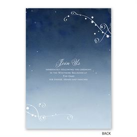 In the Stars - Invitation with Free Response Postcard