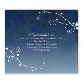 In the Stars - Information Card