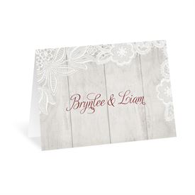 Weathered Lace - Thank You Card