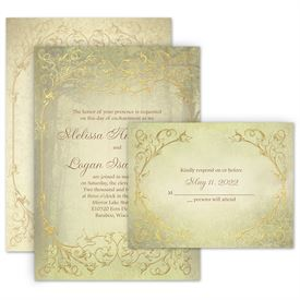Rustic Wedding Invitations Ann S Bridal Bargains