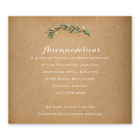 Country Boho - Information Card