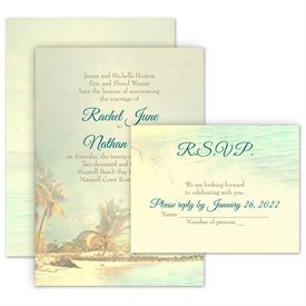 beach wedding invitations ann s bridal bargains