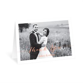 Photo Feature Thank You Card