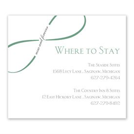 Now and Forever - Information Card