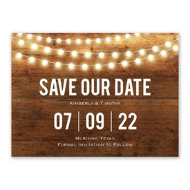 Save The Date Magnets Brilliant Lights