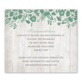 Modern Garden - Information Card