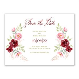 Floral Frame - Save the Date
