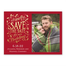 Merry Love - Holiday Save the Date