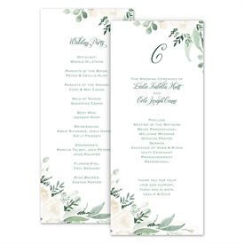 wedding programs cheap wedding programs ann s bridal bargains
