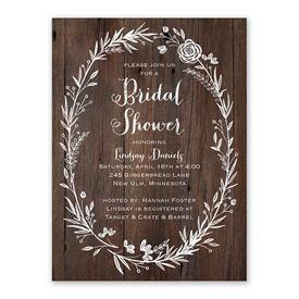 Ever After Bridal Shower Invitation