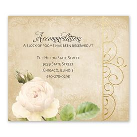 Peony Dream - Information Card