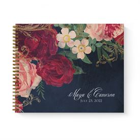 Florals and Flourishes Guest Book