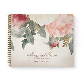 Blush Floral - Guest Book