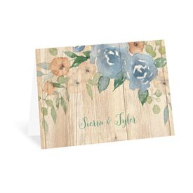 Country Blooms - Thank You Card