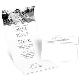 Minimalist Photo - Seal and Send Invitation