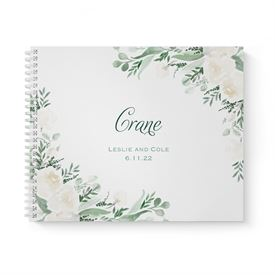 Painted Garden Guest Book