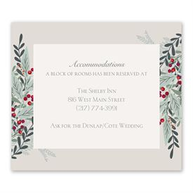 Under The Mistletoe - Information Card